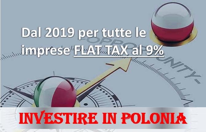 Polonia, flat tax al 9%